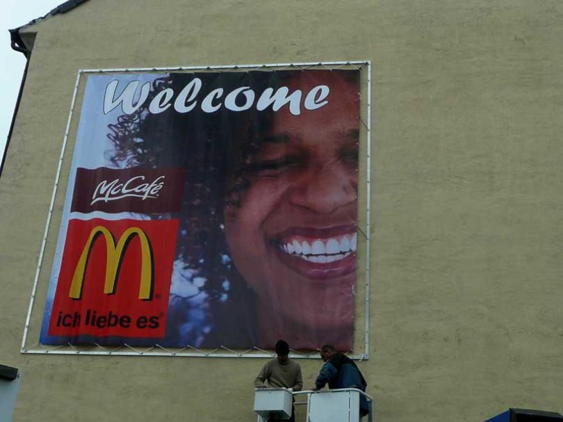 Werbebanner Werbetrransparente Banner in Osnabrück McDonalds