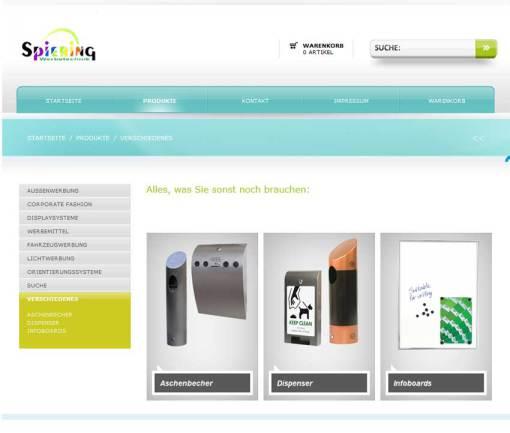 Werbemittel günstig im Online Shop von Spiering Werbung