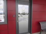 Marina Bad Essen, WC,Glasbeschichtung, Tür